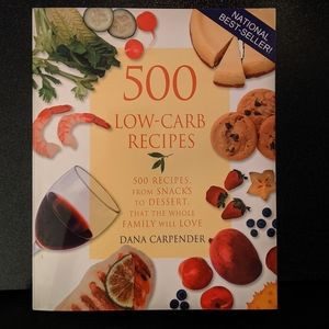 Low-Carb recipes book